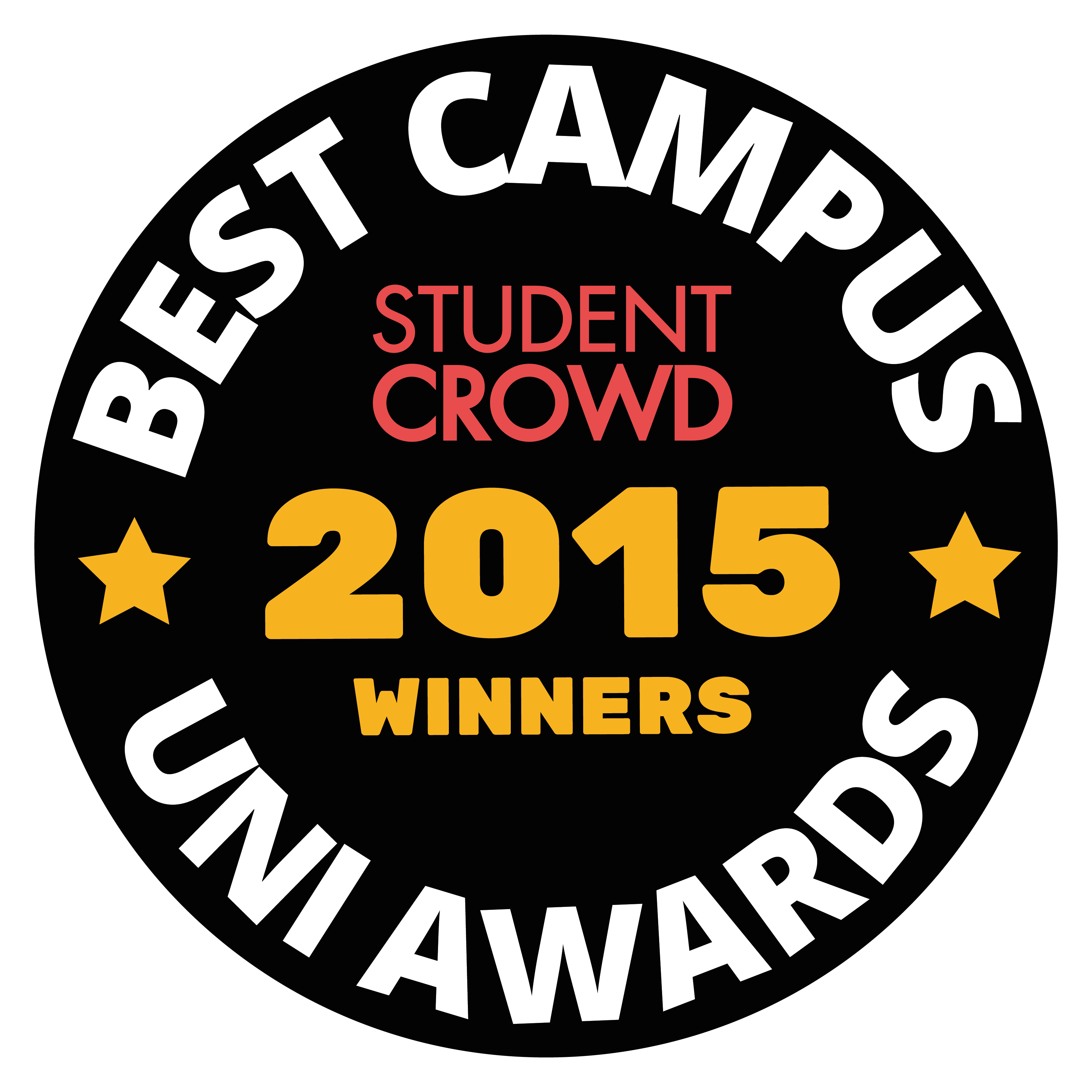 StudentCrowd Best Uni Campus Awards Badge