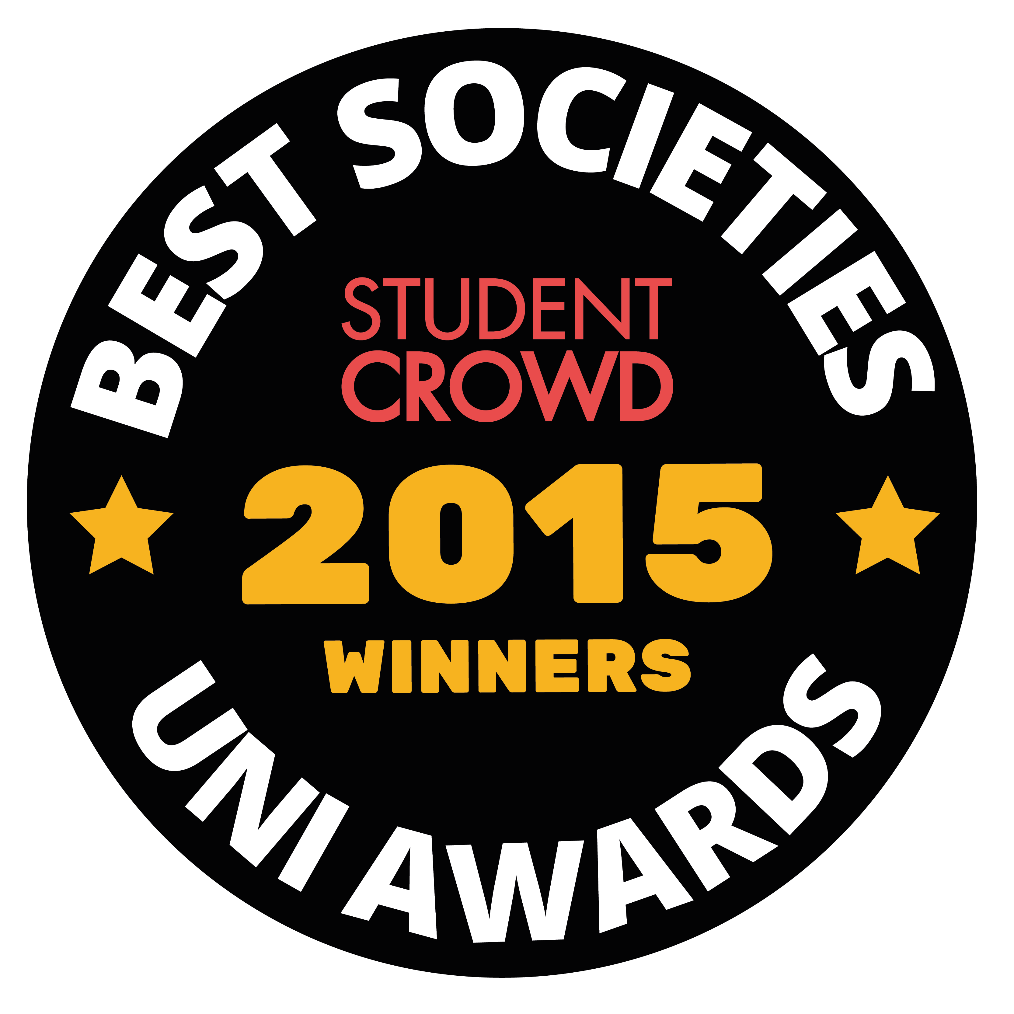 StudentCrowd Best Uni Clubs and Societies Awards Badge